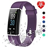Lintelek Fitness Tracker, Color Screen Tracker Activity with IP68 Waterproof, 14 Sport Modes,Smart