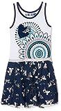 Desigual Mädchen Kleider Vest_Carson, Blau (Azul Tinta 5096), 128 (Herstellergröße:7/8)