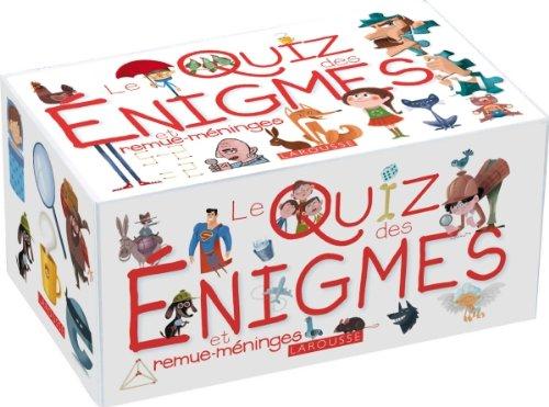 Le Quiz des énigmes et remue-méninges par Caroline de Hugo