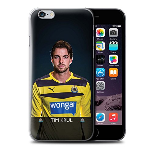 Officiel Newcastle United FC Coque / Etui pour Apple iPhone 6S+/Plus / Pack 25pcs Design / NUFC Joueur Football 15/16 Collection Krul