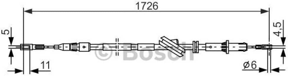 Bosch 1987477733 Bremsseil
