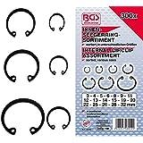 BGS 8049Assortiment d'anneaux/circlip d'intérieur, 3–32mm, 300pièces