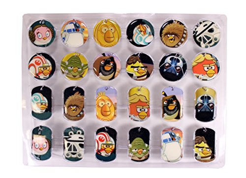 Angry Birds Star Wars Dog Tag Fun Pack Komplettsatz (Dog Tags Wars Star)