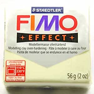 Pâte Fimo Effect 56g luminescent (n°04)
