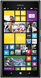 Nokia Lumia 1520 Smartphone (6 Zoll (15,2 cm) Touch-Display, 32 GB Speicher, Windows 8) schwarz