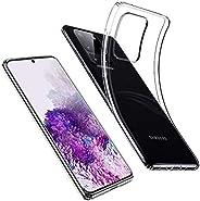 ESR Essential Zero Slim Clear Soft TPU Case Compatible with The Samsung Galaxy S20 Ultra, Soft Flexible Silico