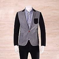 Blazer Les Hommes Des Vêtements Mode Mode Hommes La Mosaïque Striée