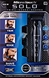 Unique Micro Touch Solo Rechargeable Full Body Trimmer and Shaver - Cordless Beard