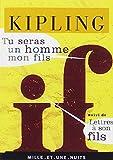 TU SERAS UN HOMME MON FILS by RUDYARD KIPLING (May 20,1998)