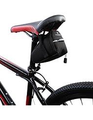 MMRM bolsa bicicleta de aire libre MTB bicicleta Saddle Tail cola trasera bolsa de almacenamiento de asiento color negro