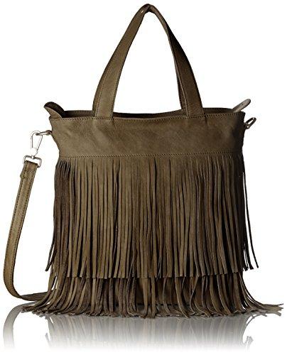 Amsterdam Cowboys - Bag Tadcaster, Borse a Tracolla Donna Marrone (Braun (Mud 560))