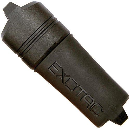 Exotac Feuerzeughülle fireSleeve Black, 005005-BLK (Bic Feuerzeug Sport)