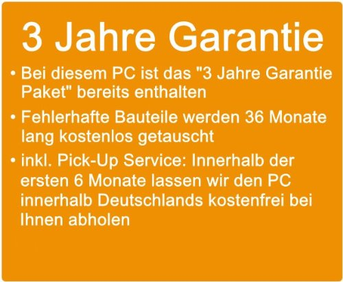 Flster-PC-AMD-Quad-Core-OfficeMultimedia-shinobee-PC-Computer-mit-3-Jahren-Garantie-inkl-Windows10-Professional-AMD-A8-Quad-Core-4x270-GHz-8GB-RAM-1000GB-HDD-AMD-Radeon-HD-8510-USB-30-HDMI-VGA-Office-