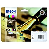 Epson C13T16364510 Tintenpatrone MultiPack für Easymail, Inhalt 12,9ml + 3x 6,5ml