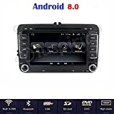 Android 8.0 GPS DVD USB SD WLAN Bluetooth Mirrorlink Autoradio 2 Din NAVI VW Golf 5/Golf 6/Passat/Jetta/Polo/Tiguan/Touran/Caddy/Sharan/Trasporter/Golf Plus/Scirocco/Sagita/EOS/Skoda/Seat