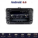 ANDROID 8.0 GPS DVD USB SD WI-FI Bluetooth MirrorLink autoradio 2 DIN navigatore compatibile con Volkswagen Golf 5 / Golf 6 / Passat/Jetta/Polo/Tiguan/Touran/Caddy/Sharan/Trasporter