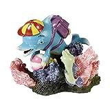 Décors pour aquarium avec diffuseur d'air inclus. Dimensions : 11X11X10cm Décoration de couleur pour aquariums pas seulement pour la plus grande joie des enfants. Fait également le bonheur des fans des grands succès cinématographiques de ces d...