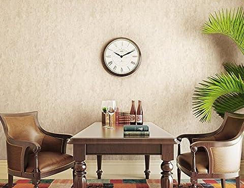 Hy-non-woven Chiffon papier peint Pixel Couleur de chambre à coucher Salon Restaurant Étude Boutique, Jaune