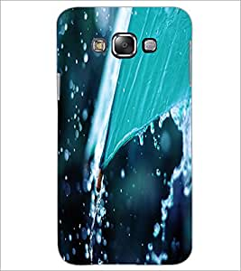 PrintDhaba Rain D-2288 Back Case Cover for SAMSUNG GALAXY A8 (Multi-Coloured)