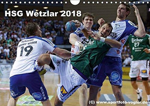 HSG Wetzlar - Handball Bundesliga 2018 (Wandkalender 2018 DIN A4 quer): HSG Wetzlar, Handball Bundesliga, Saison 2013/2014 (Monatskalender, 14 Seiten ... [Apr 01, 2017] Oliver Vogler, Sportfoto
