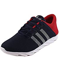 Latest Men's Blue Mesh Sneaker,Casual Sneakers Shoes By Wacky