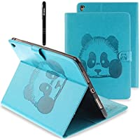 Slynmax Panda iPad Pro 9.7 Hülle Case - Ultradünne Superleicht Schutzhülle mit Leder Rückseite Abdeckung Smart... preisvergleich bei billige-tabletten.eu