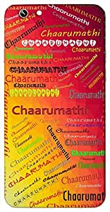 Chaarumathi (Beautiful Intelligent) Name & Sign Printed All over customize & Personalized!! Protective back cover for your Smart Phone : LG Nexus 5X