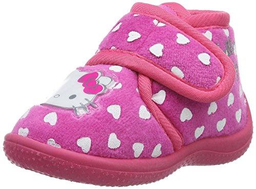 Hello Kitty 535420-21, Pantofole Bambina, Rosa (Fuchsia), 23 EU