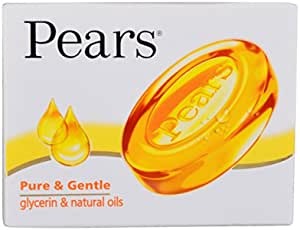 Pears Bathing Soap - Pure and Gentle, 45g Pack
