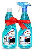 Akshat Clear Glass Cleaner (500ml) - Set of 2