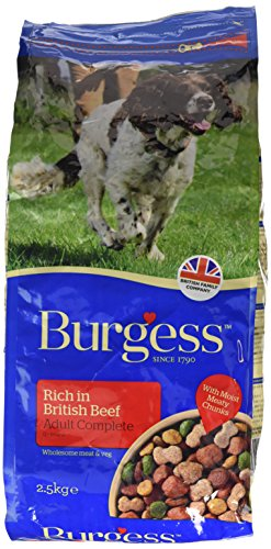 Supadog Burgess Adult Dog Food Rich in British Chicken 2.5kg (pack of 2)