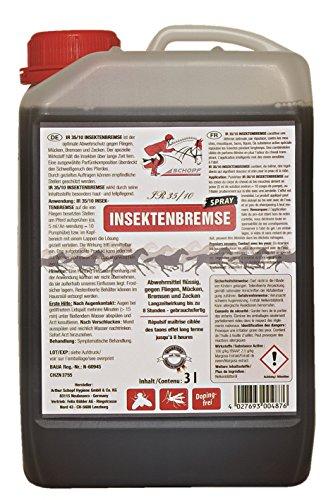 Schopf IR35/10 Insektenbremse 3 L Kanister l Abwehrmittel gegen Fliegen, Mücken und Bremsen