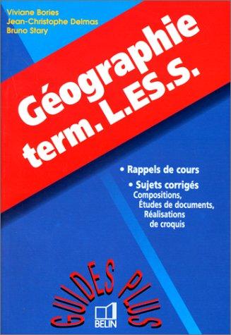 Géographie Terminales L, ES, S