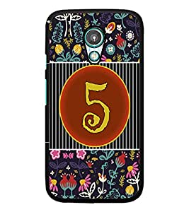 PrintDhaba Numerology Number 5 D-3092 Back Case Cover for MEIZU M1 NOTE (Multi-Coloured)