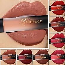 18 Colores Profesional Mate Pintalabios de Maquillaje labial Larga Duracion para Niñas por ESAILQ B