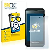 BROTECT AirGlass Protector Pantalla Cristal Flexible Transparente para BlackBerry Z10 Protector Cristal Vidrio - Extra-Duro, Ultra-Ligero, Ultra-Claro