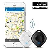 2 Pcs Wireless Key Finder with Camera Remote, Bizoerade Bluetooth Anti-lost Key Tracker