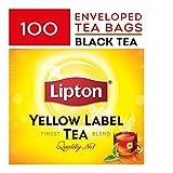 #6: Lipton Yellow Label Finest Tea Blend, Black Tea (100 Tea Bags) - 200g