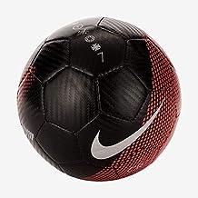 Nike Mini Balón de Fútbol CR7 Mercurial Negro Rojo Niño 292f9603e6a92