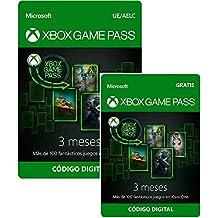 Suscripción Xbox Game Pass - 3 Meses + 3 Meses GRATIS | Xbox Live - Código de descarga