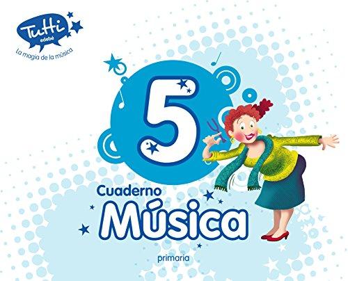 CUADERNO MÚSICA 5 - 9788468312637 por Obra Colectiva Edebé