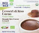 Probios Dessert Riso al Cacao - Pacco da 6 x 4 - Totale: 24 pezzi