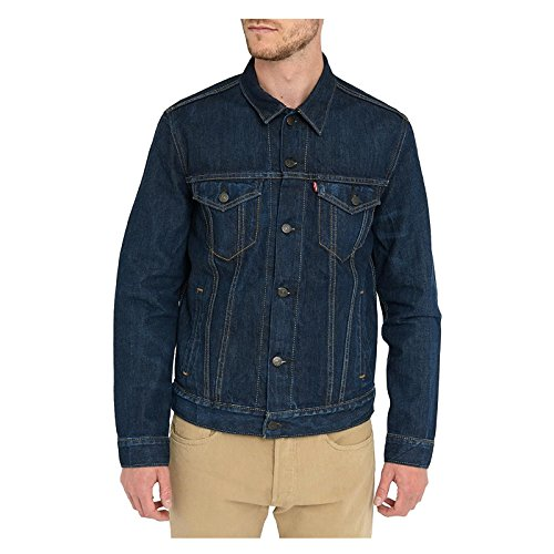Levi's -  giacca - camicia - maniche lunghe  - uomo conifer xxxl