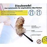 UNGER Consumer Staubwedel aus Lammwolle f�r empfindliche Oberfl�chen