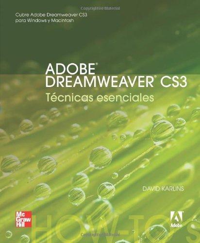 Adobe Dreamweaver Cs3 Tecnicas por Karlins David