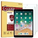 [2 Stück]OMOTON Panzerglas Schutzfolie für iPad Pro 10.5 [2017], ipad pro 10.5 panzerglas mit 9H Härte, Anti-Kratzen, Anti-Öl, Anti-Bläschen
