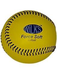 Nueva fuerza Aresson suave dura práctica piel Softball