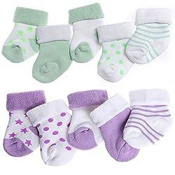 IKRR 10 piezas Baby s Socks...