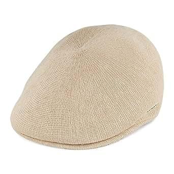 Kangol Bamboo 507 Flat Cap - Beige: Amazon.co.uk: Clothing