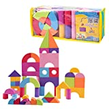#7: HappyKids Baby Toys Building Blocks Eva Foam Non-Toxic Non-Recycled for Children Soft Color Bright Brinquedos Juguets 52 Pcs